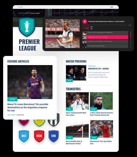 Sport Social website